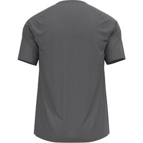 Odlo Essential Print T-Shirt S/S Crew Neck Men, steel grey/graphic